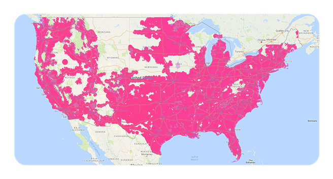 tmobile coverage map